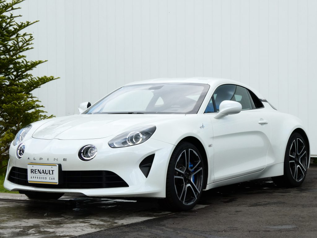 A110 Première Édition LHD パールホワイト日本導入4台